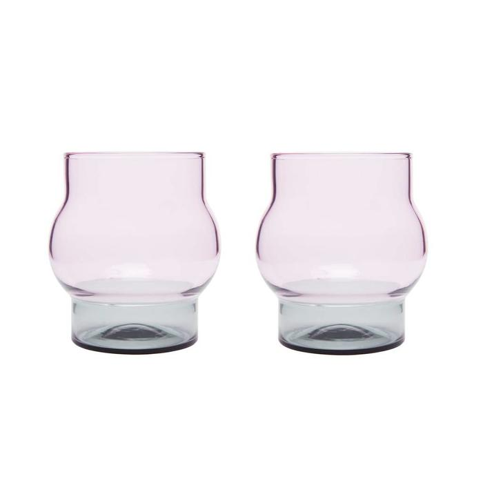 Bump Glass Set x 2