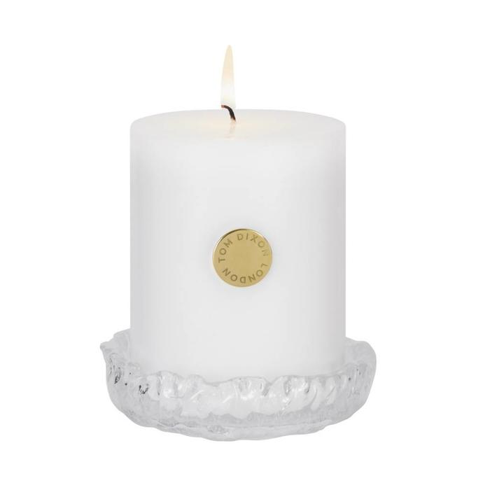 Quartz Pillar Candle Set