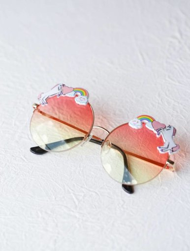 Rainbow Sunglasses - Pink