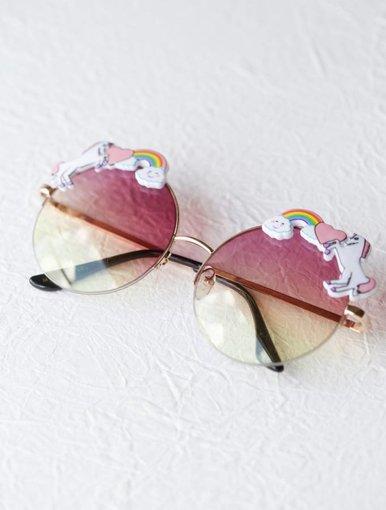 Rainbow Sunglasses - Purple