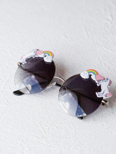 Rainbow Sunglasses - Black
