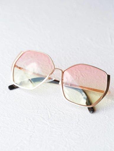 Selena Sunglasses - Rose Gold