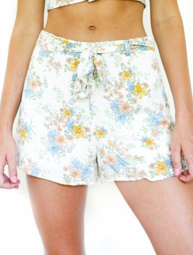 Hydrangea Shorts