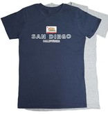 San Diego Bear flag Embroidered