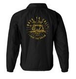 Windbreaker Jacket W Evolution bear Golden state Black