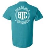 Back To Cali Crew Design T-Shirt