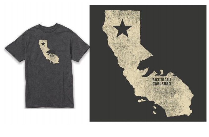BTC Carlsbad Cali Shape w bear  -