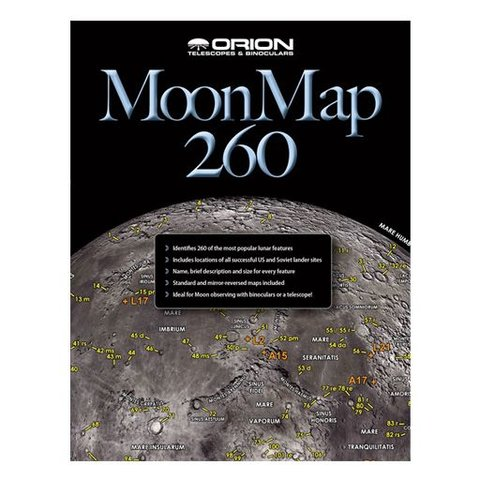 ORION MOON MAP 260