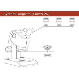 LABO AMERICA INC. LABOMED LUXEO 2S STEREO MICROSCOPE