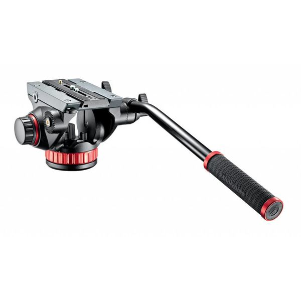 MANFROTTO MANFROTTO PRO TRIPOD VIDEO HEAD WITH FLUID DRAG