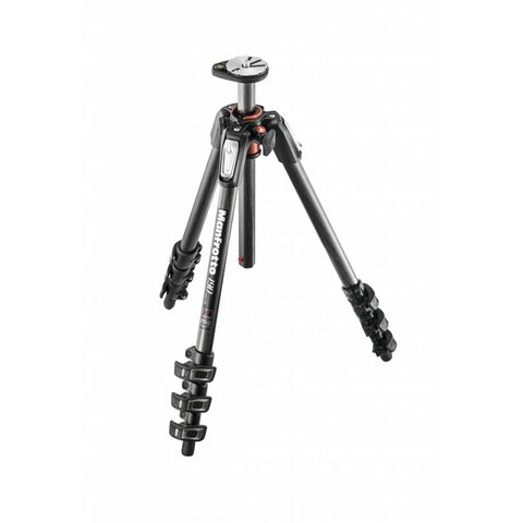 MANFROTTO 190 4-SECTION CARBON FIBER TRIPOD