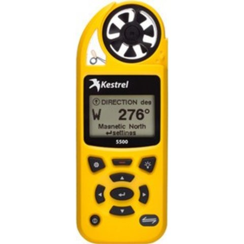 Kestrel 5500 w/ LINK + Vane Mount (yellow)