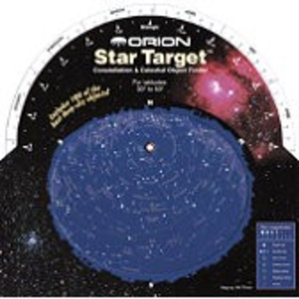 ORION TELESCOPE ORION STAR TARGET PLANISPHERE