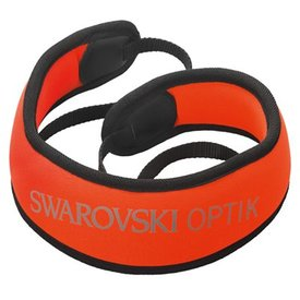 SWAROVSKI OPTIK SWAROVSKI Carrying Strap - Orange FFSP Floating Shoulder Strap Pro