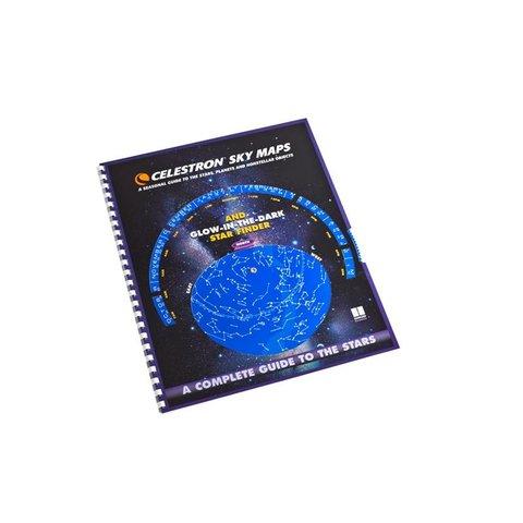 CELESTRON SkyMaps Star Charts & Planisphere (Northern)