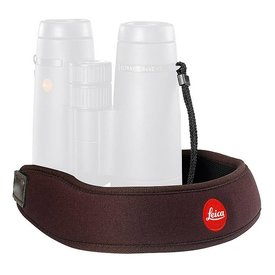 LEICA CAMERA LEICA Neoprene Bino Neck Strap - Chocolate Brown