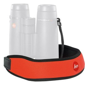 LEICA CAMERA LEICA Neoprene Bino Neck Strap - Juicy Orange