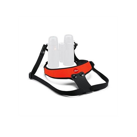 LEICA Neoprene Bino Sport Strap - Juicy Orange