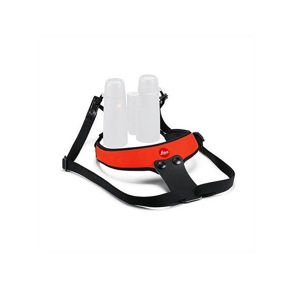 LEICA CAMERA LEICA Neoprene Bino Sport Strap - Juicy Orange