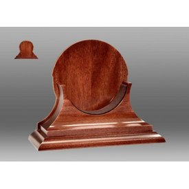 CHELSEA CLOCK CO. CHELSEA 4.5 MAHOGANY BASE TRADITIONAL