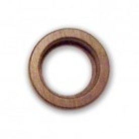 VISUAL AID LAB MAGNABRITE 64MM ROUND WALNUT BASE