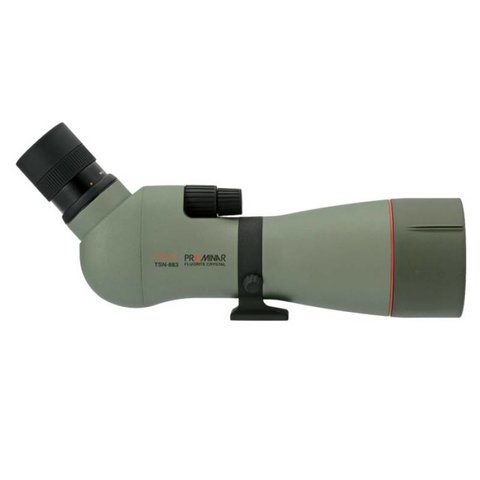 KOWA 88MM PROMINAR FLUORITE SPOTTING SCOPE, ANGLED BODY