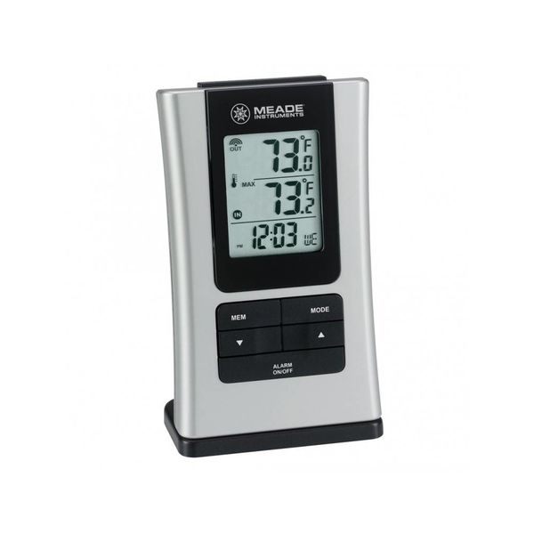 MEADE INS'T MEADE Personal Weather Station with Quartz Clock