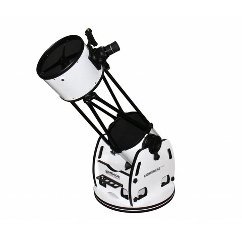 Meade 10 Inch LightBridge Plus Truss-Tube Dobsonian