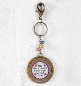Natural Life Resin Keychain