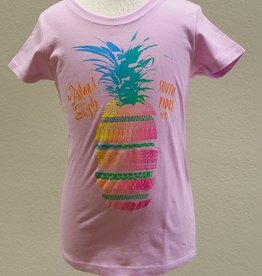 Coastal Classics Girls Sliced Pineapple Tee
