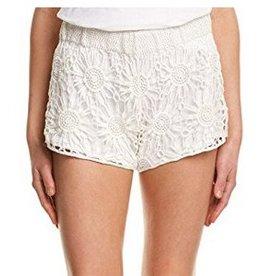 The Crochet Short-White