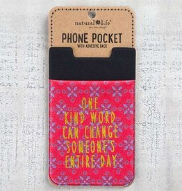 Natural Life Phone Pocket One Kind Word