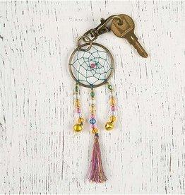 Natural Life Dream Catcher Key Chain