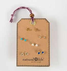 Natural Life Gypsy Earring Set LOVE