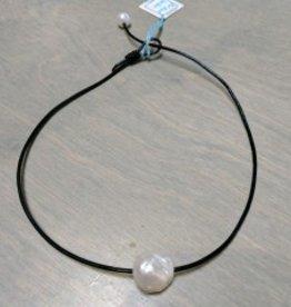 Amata Jewelry Baroque Pearl Choker Large