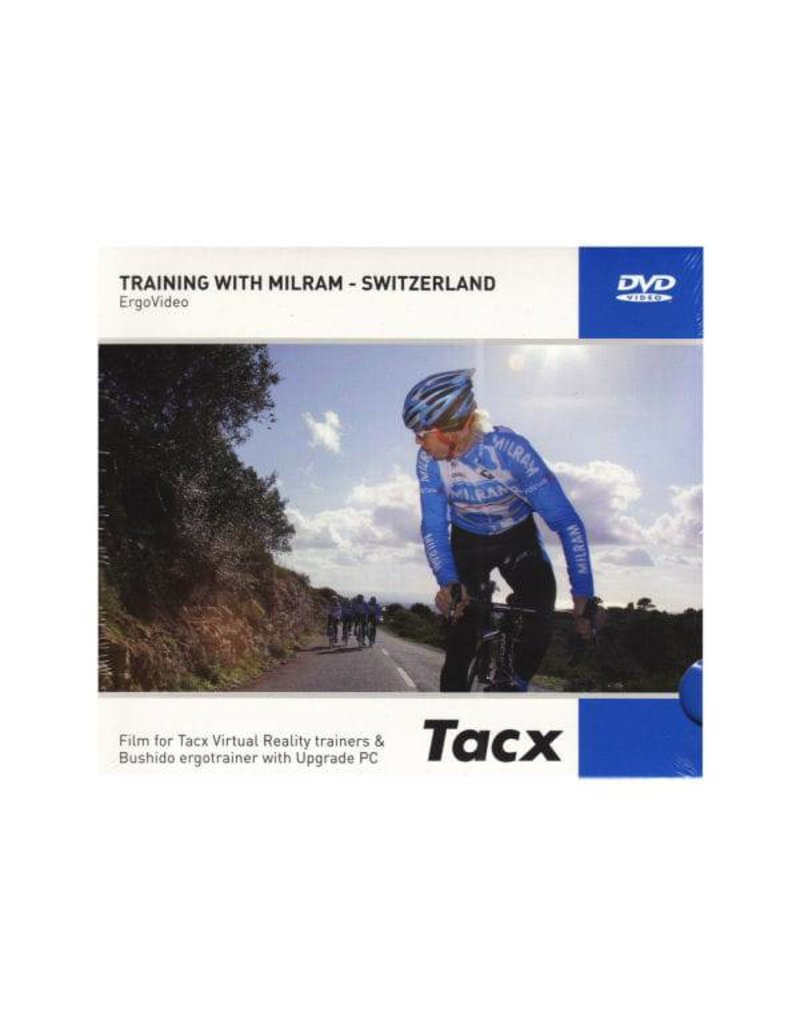 Tacx DVD Tacx Real Life Video, Entrainement avec Milram, Suisse
