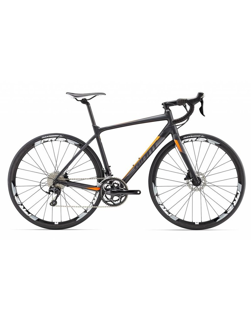 Giant 17 Contend SL 1 Noir/Gris/Orange