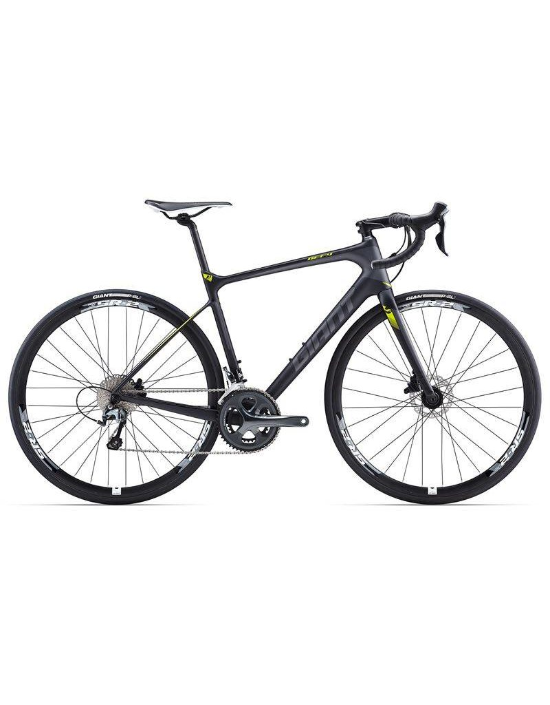 Giant 17 Defy Advanced 3  Composite/Gris/Lime