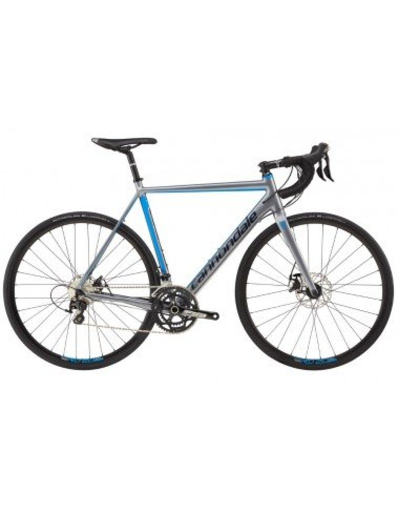 Cannondale 17 CAAD Optimo Disc 105 Gris/Bleu