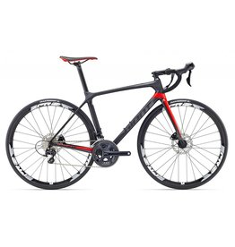 Giant 17 TCR Advanced 2 Disc Composite/Gris/Rouge