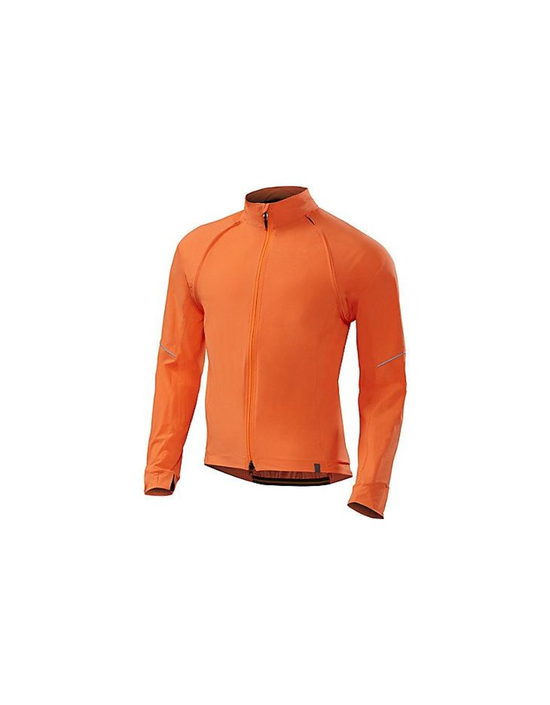 Specialized Deflect hybride jacket orange néon