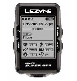 Lezyne Super GPS, Cyclometre, Unite