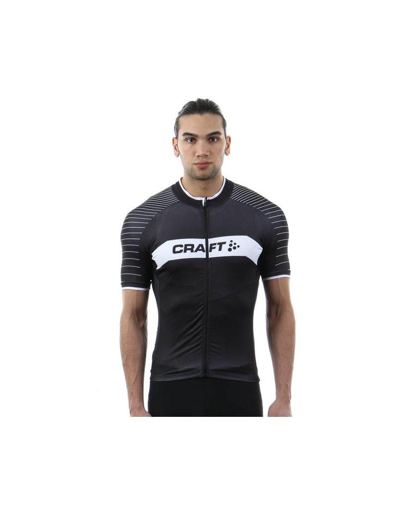 Craft Gran Fondo Jersey Noir/Blanc