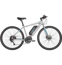 Evo EVO, E-Bikes, Fastway 3, Vélo électrique 700C, Argent/Bleu