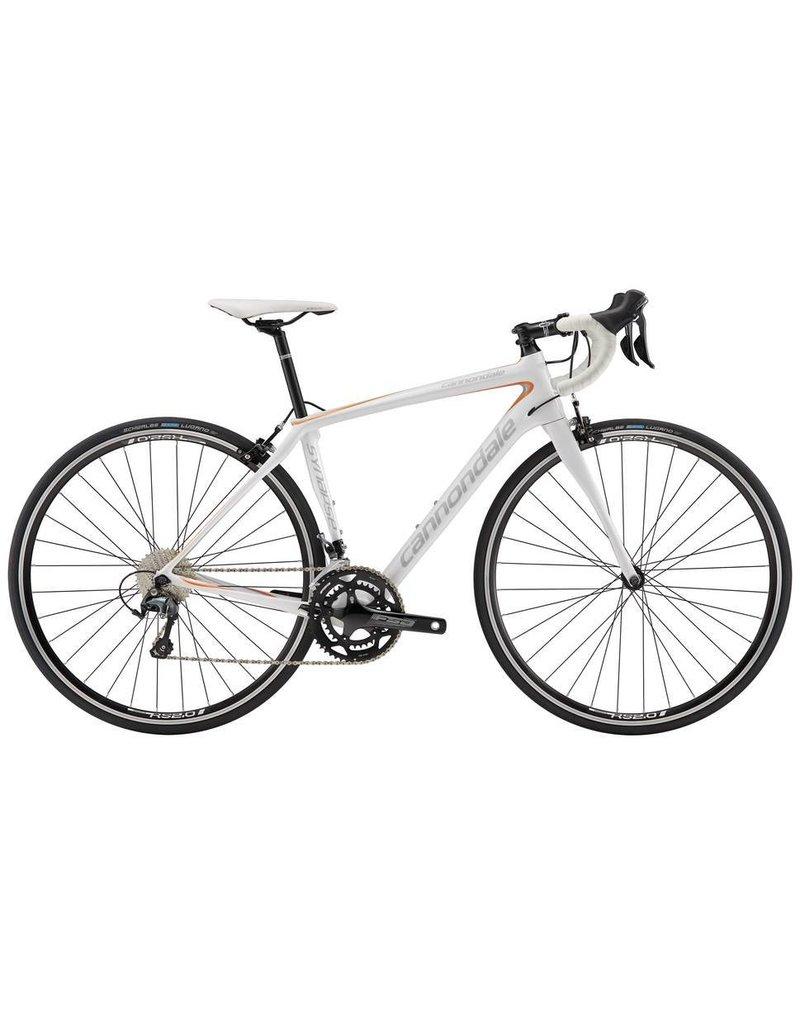 Cannondale 16 Synapse Carbon Women's Tiagra 6 Blanc 48cm