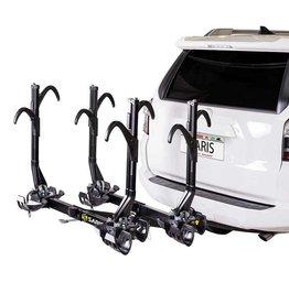 Saris SuperClamp EX, Porte-vélos pour attelage, 4 Vélos,  2'', Noir