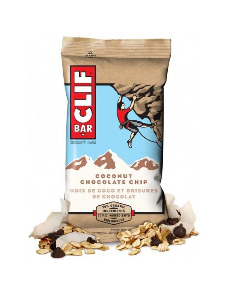 Clif Clif, Barre energetique, Noix de coco/Brisures de chocolats