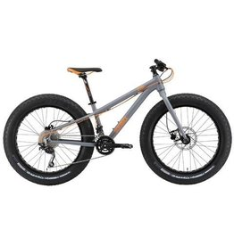 Silverback Demo Scoop Half Fat bike Jr 24 Gris/Orange