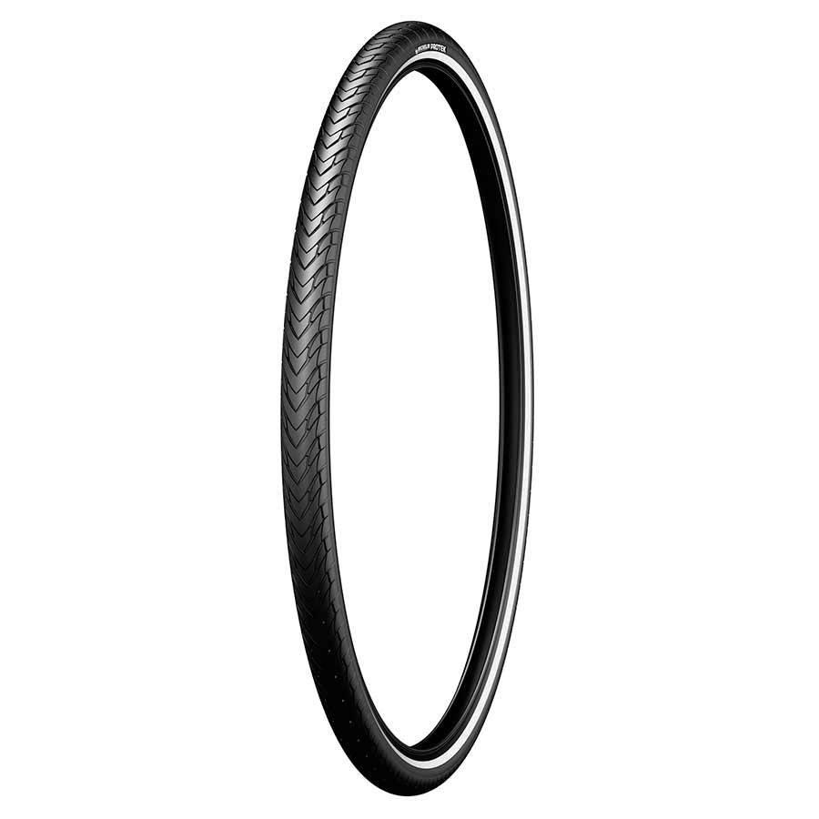 Michelin Protek, 26x1.85, Rigide, Tringle, Protek 1mm, Reflex, 22TPI, 36-87PSI, Noir