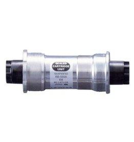 Shimano BB-5500, Octalink, Boitier: 68mm, Axe: 109.5mm, Acier, Argent